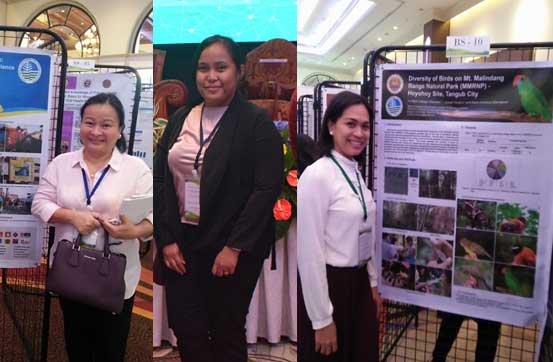 Misamis University  Presented Scientific Posters during the National Academy of Science and Technology (NAST)  Philippines  40th Annual Scientific Meeting